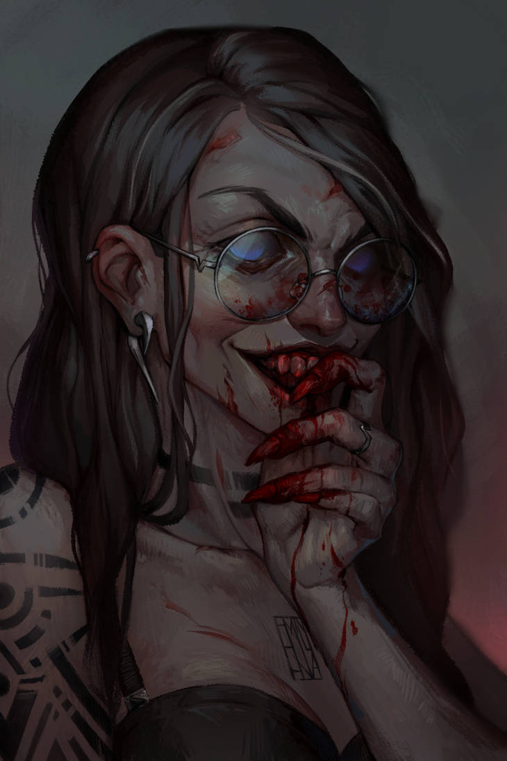 blood by Emilyena