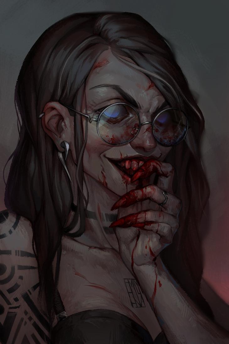blood by Emilyena