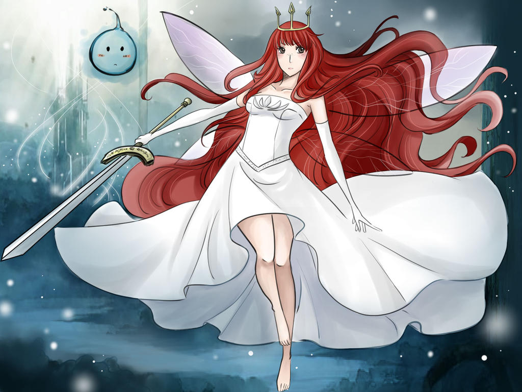 Anime Queen Of Light Child of light aurora by