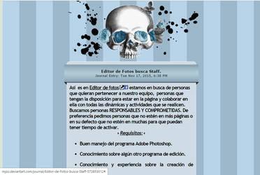 CONCURSO EDITOR DE FOTOS! by SecretLikeAGhost