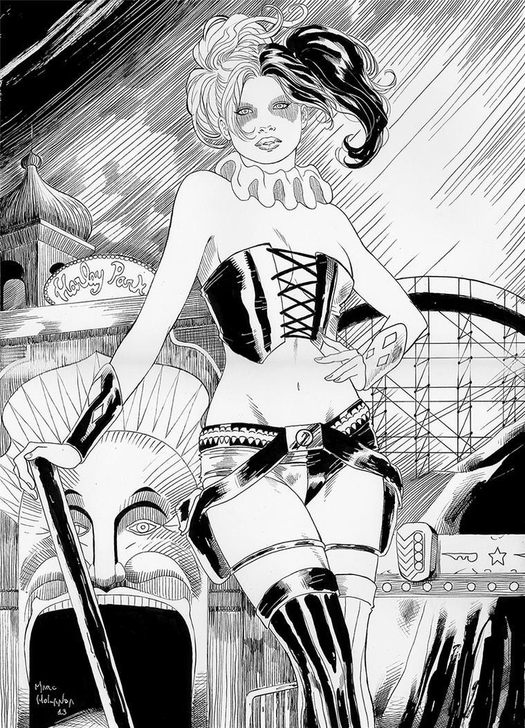 Harley Quinn by MarcelloHolanda