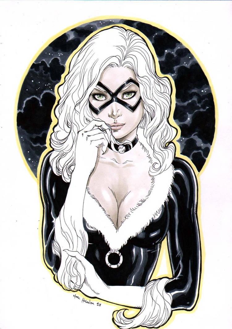 Black Cat by MarcelloHolanda