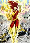 Dark Phoenix X Thanos