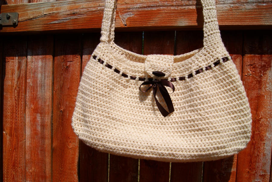 Crochet Hobo Bag Pattern : Crochet Hobo Bag by Thisandthatcreations on DeviantArt