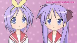 Tsukasa and Kagami COLLAB