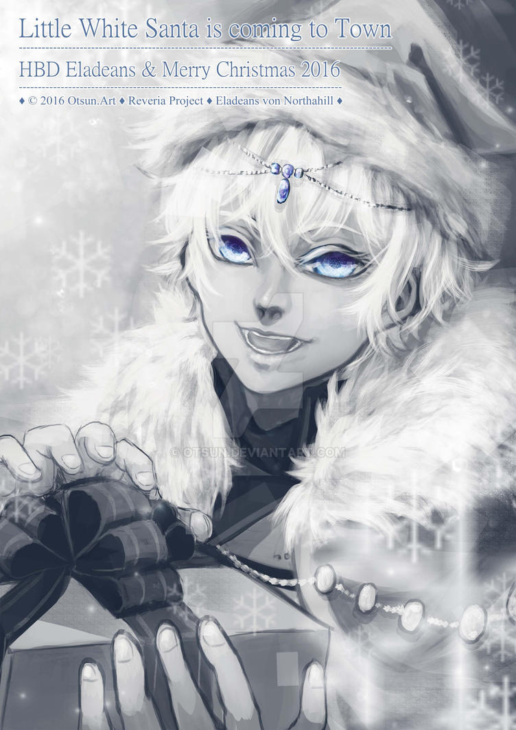 Little White Santa is coming to town by Otsun