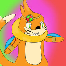 Buizel doodle ( coloured ) by MysteriousMystery01
