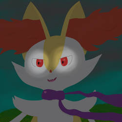 Braixen - - - by MysteriousMystery01