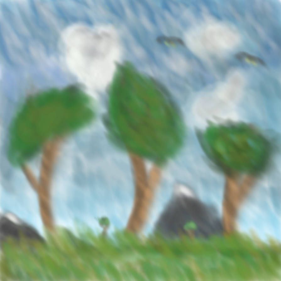 Three Trees by MysteriousMystery01