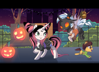 Go the Halloween party by Spookyle