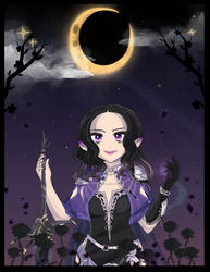 Daughter of the night by Spookyle