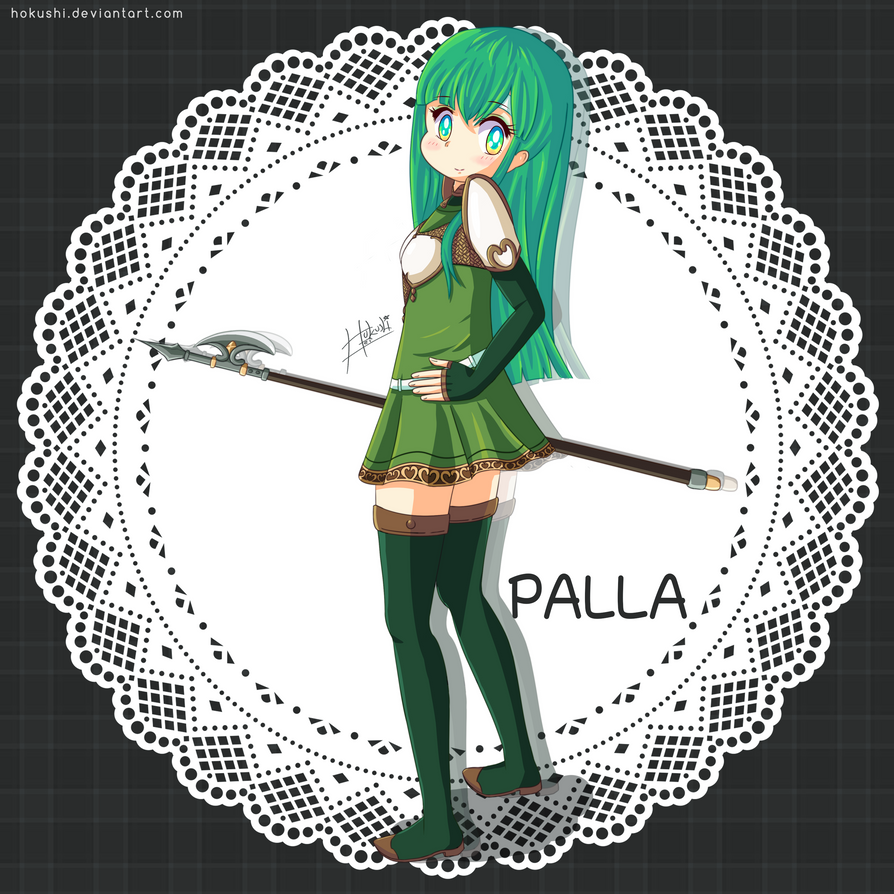 Leave it to me! Palla Fire Emblem by hokushi