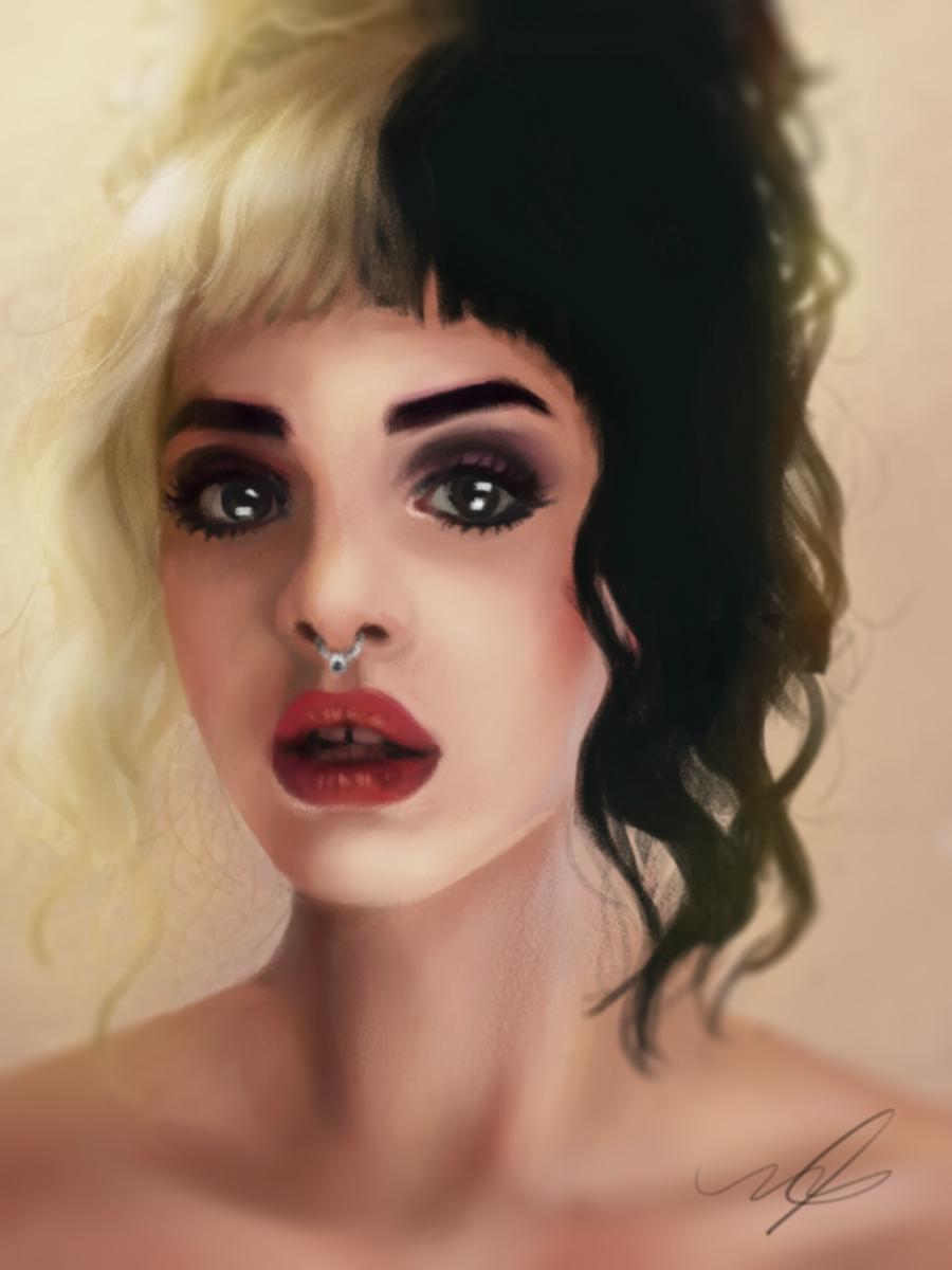 Melanie Martinez Portrait Cosmogirll Deviantart