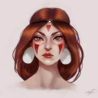 Mononoke Hime by cosmogirll