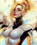 Overwatch - Mercy + Speedpaint