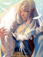 Sesshomaru by cosmogirll