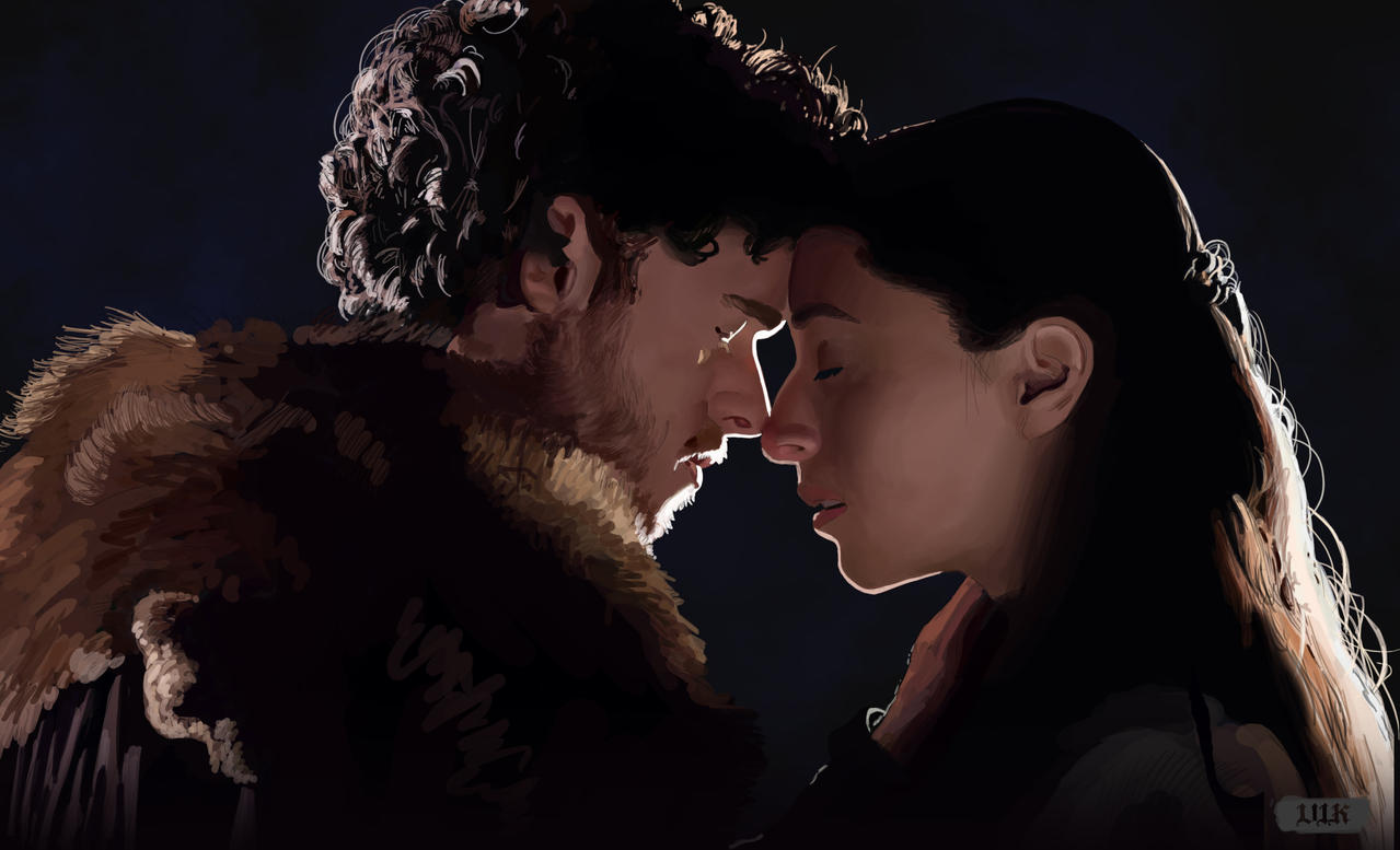 Robb Stark And Talisa Maegyr By Paganflow On Deviantart