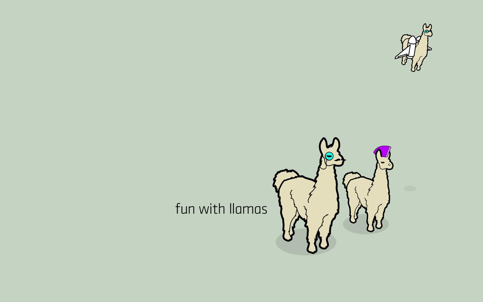 Fun with Llamas by TheRyanFord