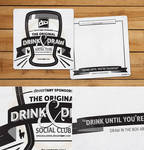 Drink and Draw Coaster