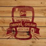 Drink Draw Woodpaint