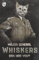 Major General Whiskers-Original by TheRyanFord