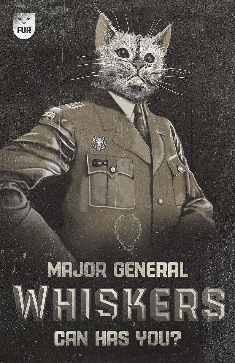 Major General Whiskers-Original by TheRyanFord