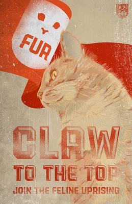 Flag Cat-Original
