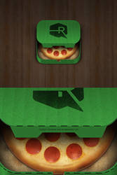 Pizza iOS App Icon