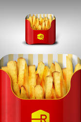 French Fries iOS App Icon