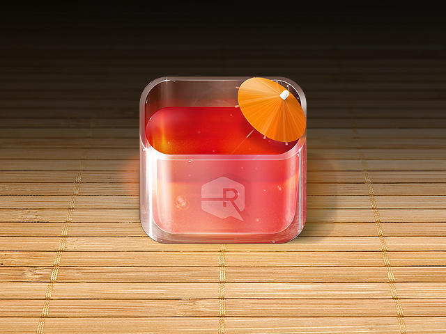 Fruit Punch iOS App Icon by TheRyanFord