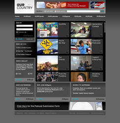 OurCountry Website by TheRyanFord