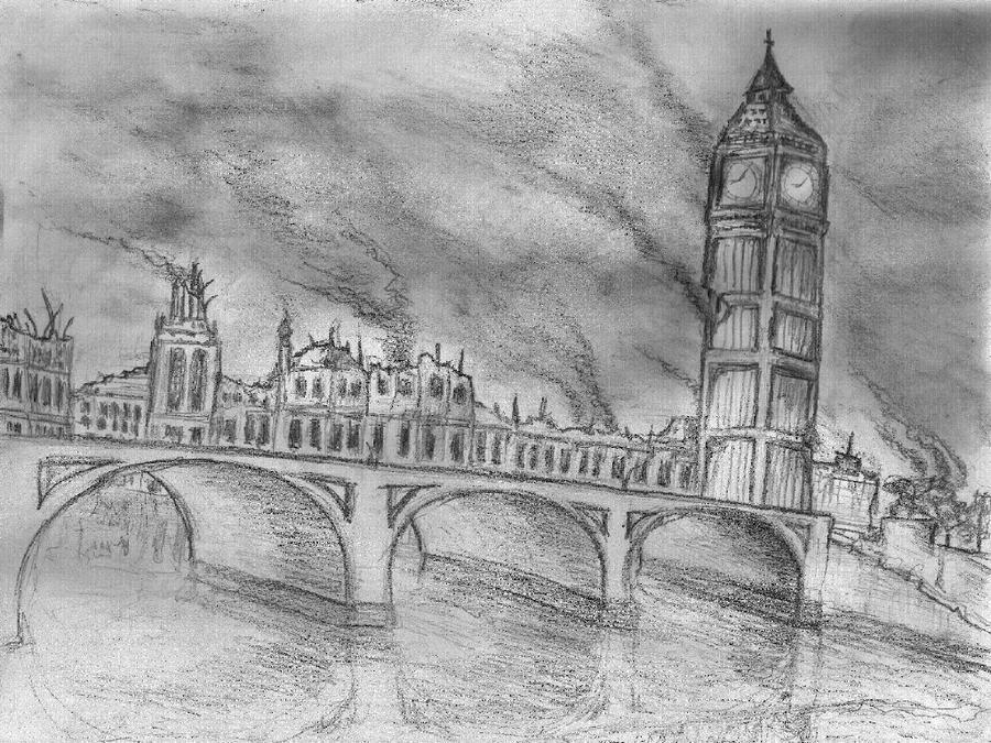 London Deja Vu Sketch By Rod750 On DeviantART
