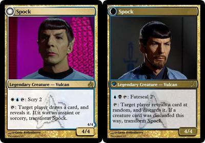Spock MTG by Lord-Dream-Stalker
