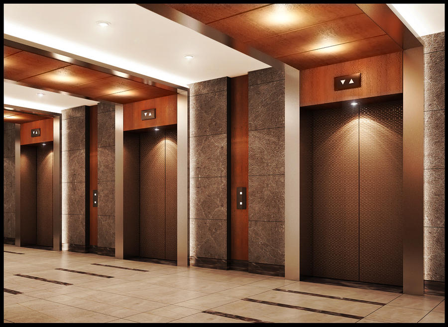 The gallery for --> Lift Lobby Design