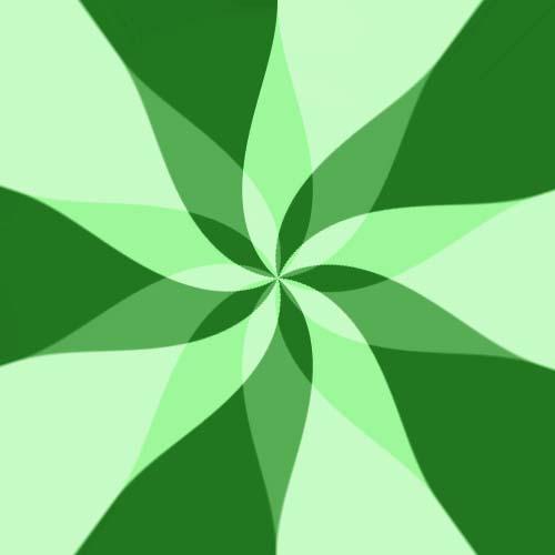 Light Green Flower By Avp9423