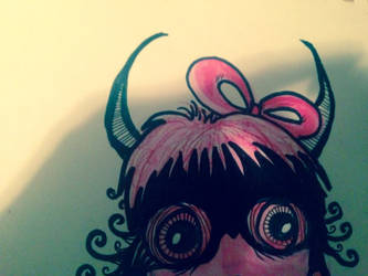 Pink Devil by SeranaRose