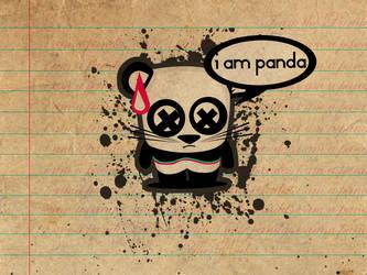 I am panda. by sunsE