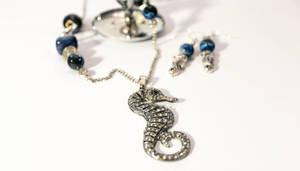 Deep Blue Seahorse