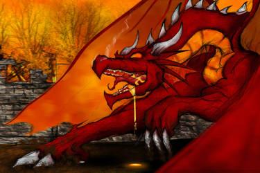 Dragon Shivano by zombiecharro