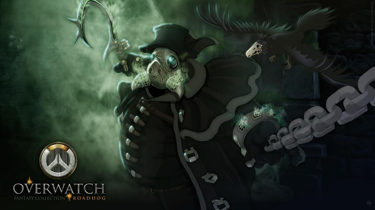 Roadhog (Medieval/fantasy Overwatch series part 1) by nicopower5000