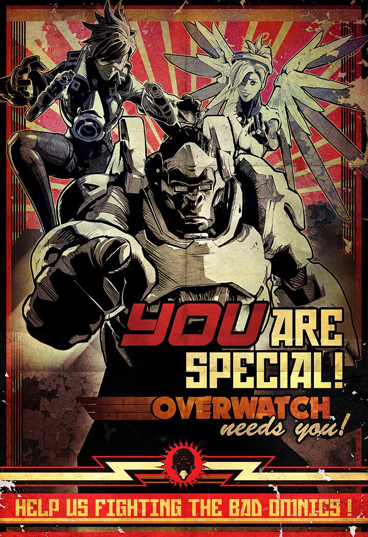 Join-overwatch propaganda poster by nicopower5000