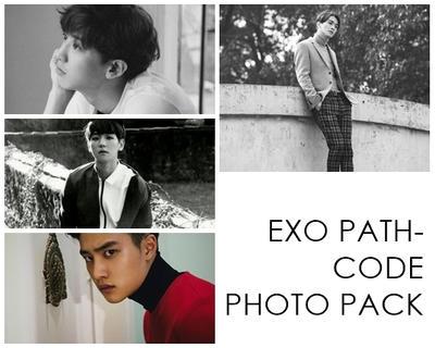 EXO Pathcode Photo Pack by KAIBAEKISHEART