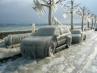 china  shenyang Severe winter by sjzheng