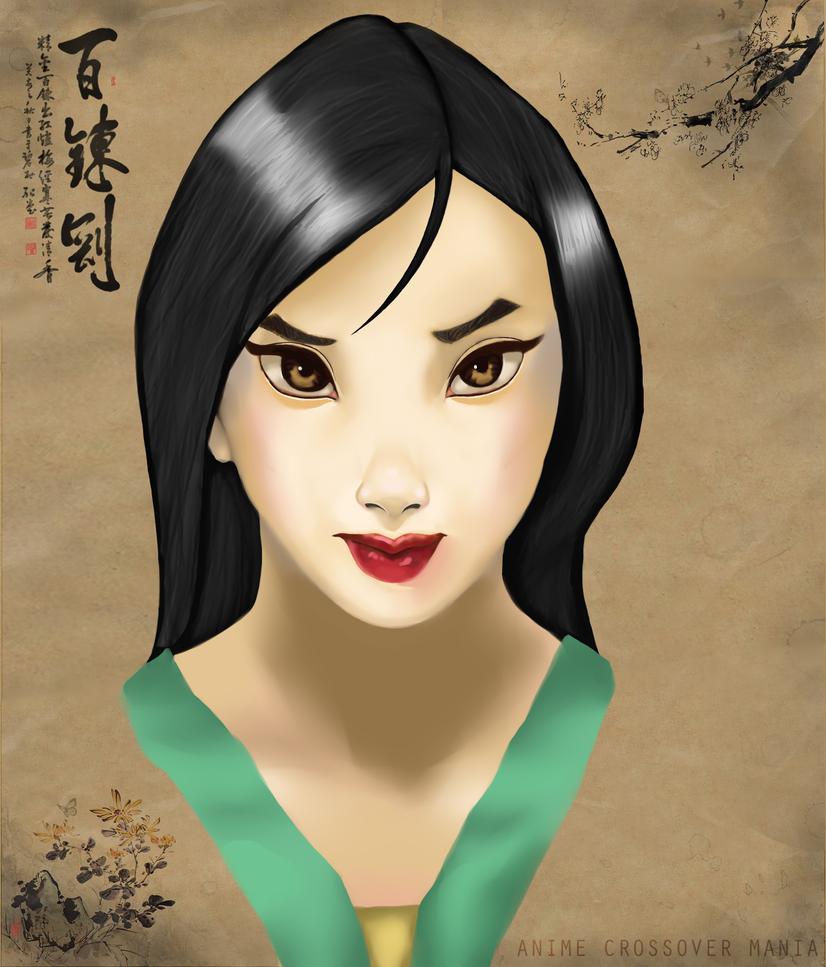 Mulan by AnimeCrossoverMania