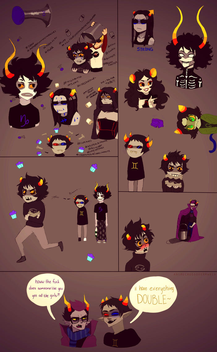 Homestuck dump by AnimeCrossoverMania
