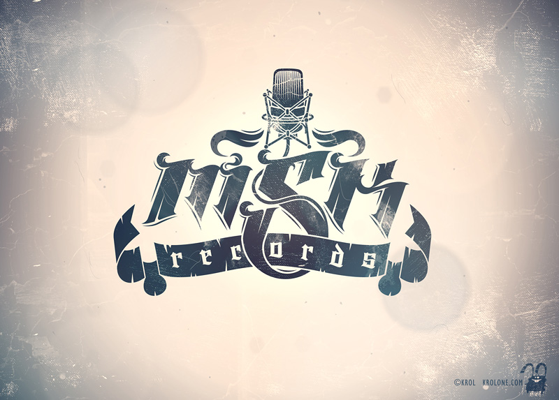 Logo MSK records by krolone