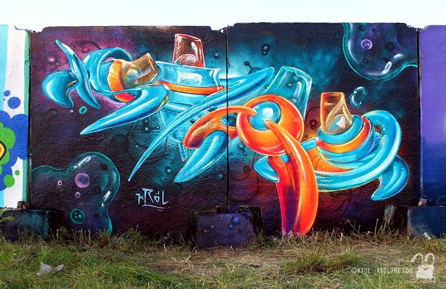 Space letters (by KROLone) by krolone