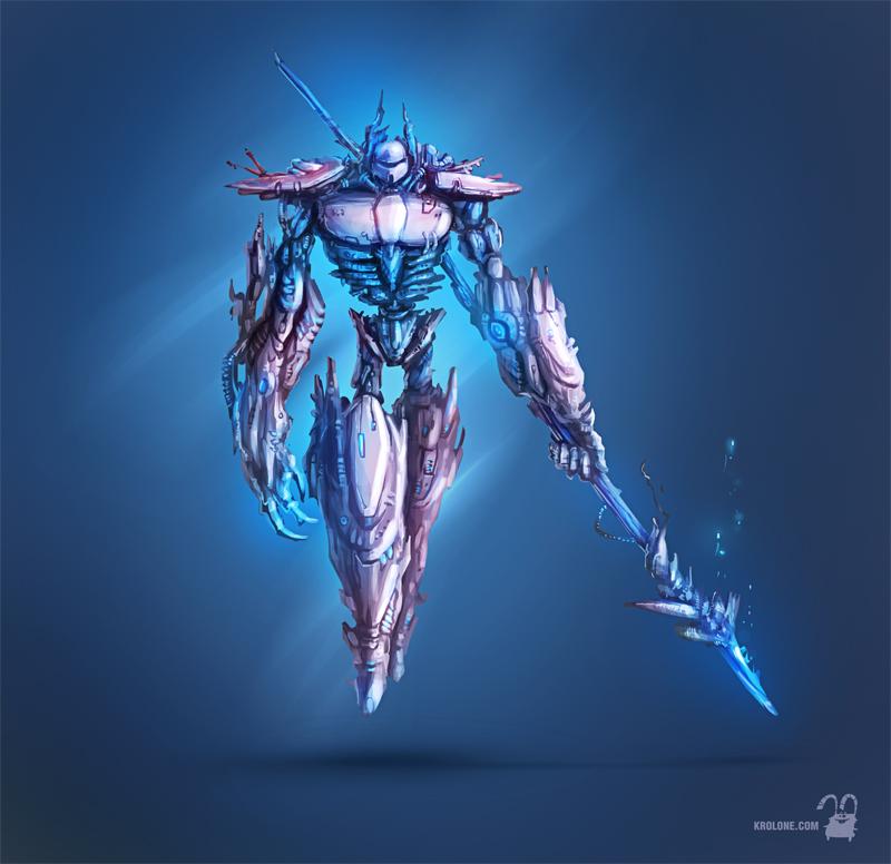 cyborg by krolone