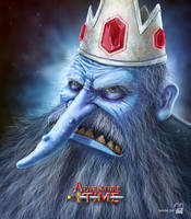 The Ice King (Adventure Time) by krolone