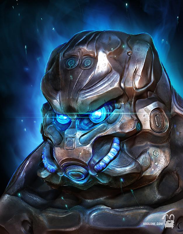 Cyborg S by krolone
